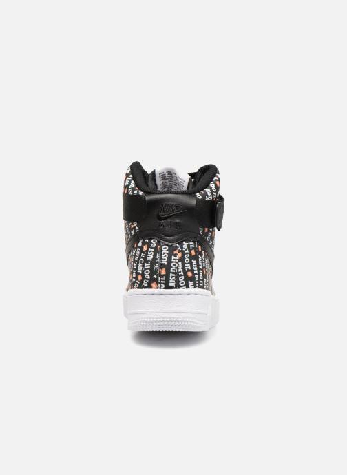 Sneaker Nike Wmns Air Force 1 Hi Lx schwarz ansicht von rechts