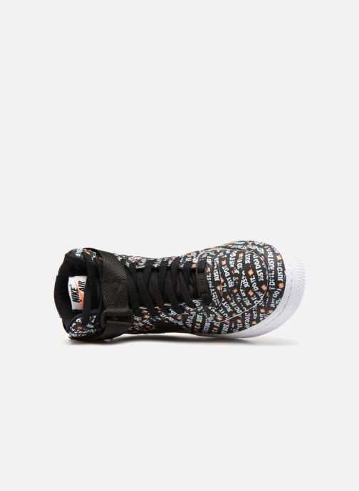 Sneaker Nike Wmns Air Force 1 Hi Lx schwarz ansicht von links