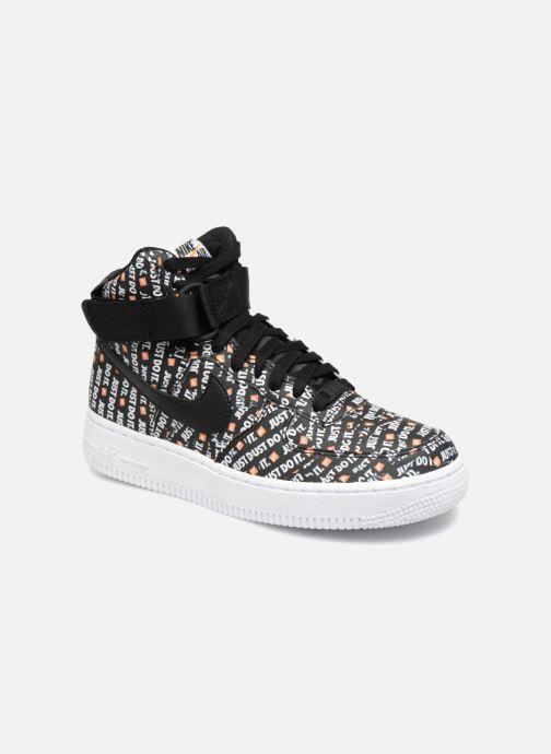Sneaker Nike Wmns Air Force 1 Hi Lx schwarz detaillierte ansicht/modell