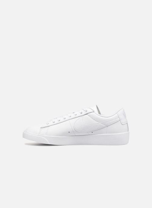 Sneaker Nike W Blazer Low weiß ansicht von vorne