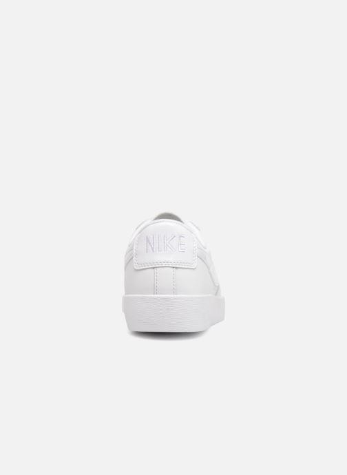 Sneaker Nike W Blazer Low weiß ansicht von rechts