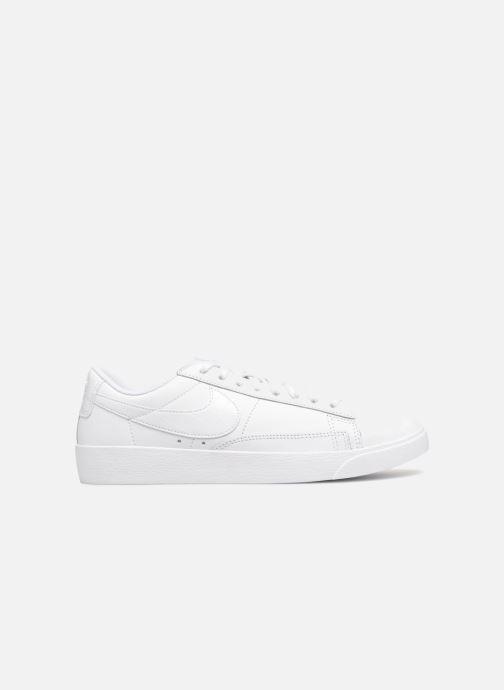 Sneaker Nike W Blazer Low weiß ansicht von hinten
