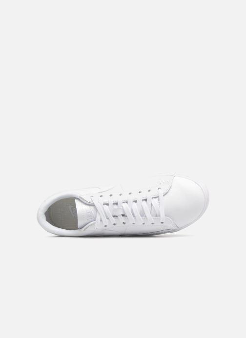 Sneaker Nike W Blazer Low weiß ansicht von links