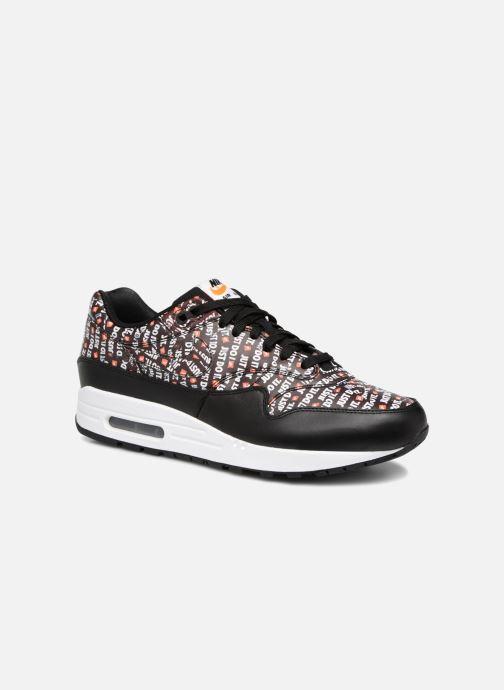 buy popular cf035 87f65 Baskets Nike Nike Air Max 1 Premium Noir vue détail paire