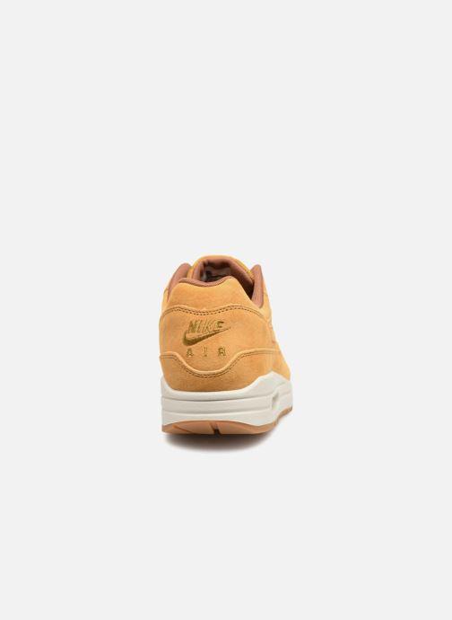 Baskets Nike Nike Air Max 1 Premium Marron vue droite