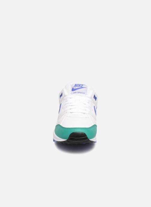 timeless design 1001c 9bff1 Baskets Nike Nike Air Span Ii Blanc vue portées chaussures