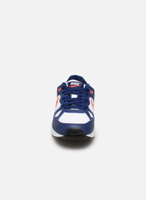 Baskets Nike Nike Air Span Ii Blanc vue portées chaussures
