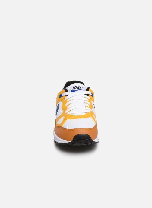 Baskets Nike Nike Air Span Ii Jaune vue portées chaussures