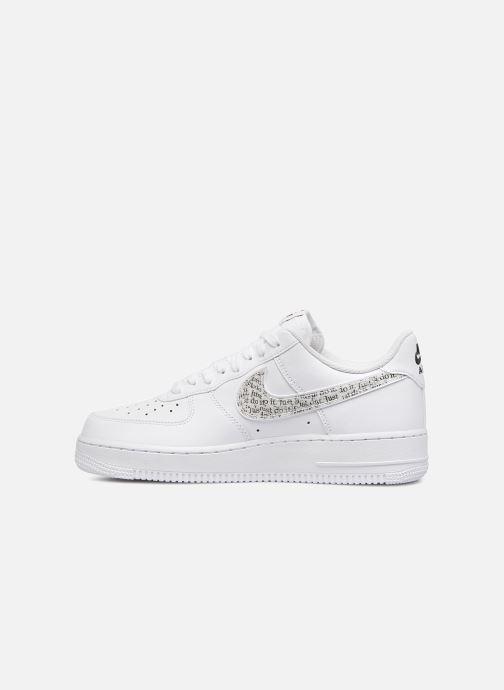 best service fd61d e7ff7 Nike Air Force 1 '07 Lv8 Jdi Lntc (Wit) - Sneakers chez Sarenza (330074)