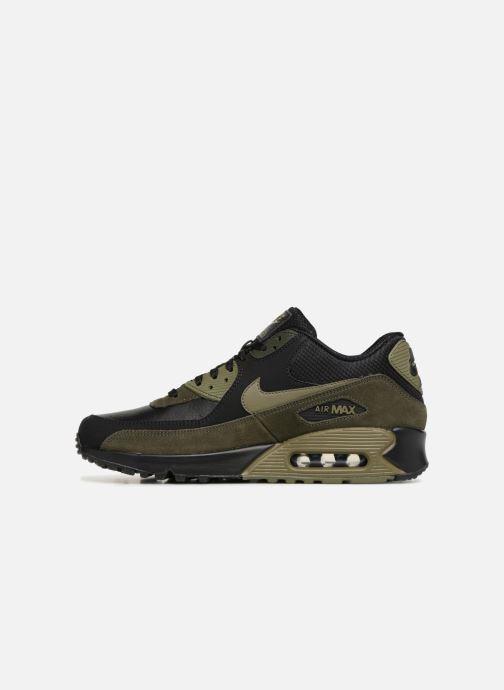 Nike Air Max 90 Leather (Noir) Baskets chez Sarenza (330075)