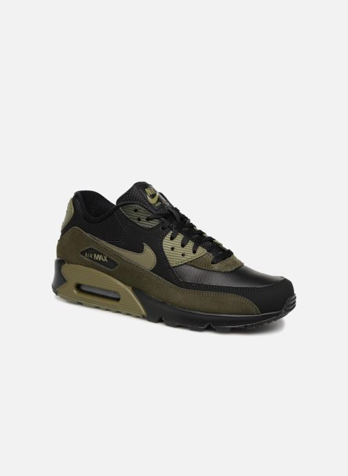 Nike Air Max 90 Leather (Noir) Baskets chez Sarenza (330075)