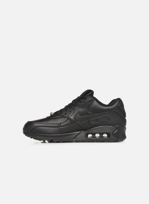 Trainers Nike Air Max 90 Leather Black front view