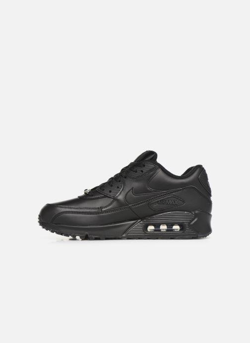 Sneakers Nike Air Max 90 Leather Zwart voorkant