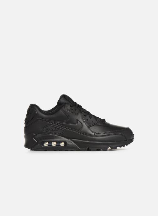 Sneakers Nike Air Max 90 Leather Zwart achterkant