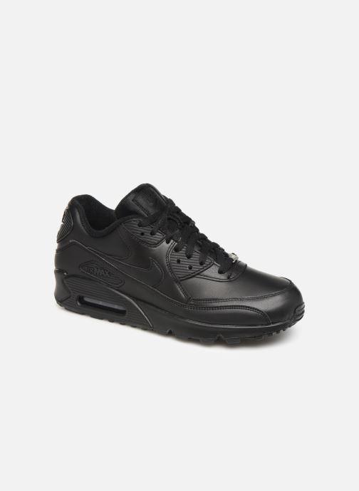 Sneakers Nike Air Max 90 Leather Zwart detail