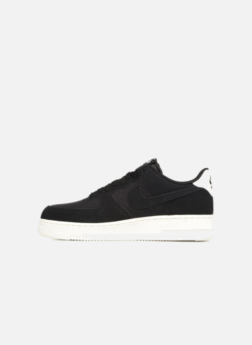 Nike Air Force 1 '07 Suede (Noir) Baskets chez Sarenza