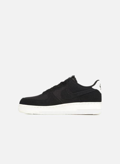 Sneaker Nike Air Force 1 '07 Suede schwarz ansicht von vorne