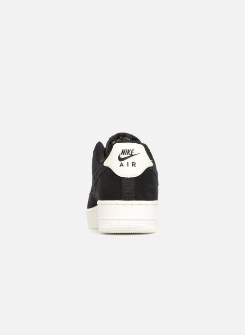 Sneaker Nike Air Force 1 '07 Suede schwarz ansicht von rechts