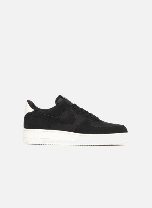 Sneaker Nike Air Force 1 '07 Suede schwarz ansicht von hinten