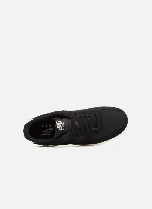 Sneaker Nike Air Force 1 '07 Suede schwarz ansicht von links