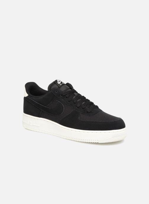 Sneaker Nike Air Force 1 '07 Suede schwarz detaillierte ansicht/modell