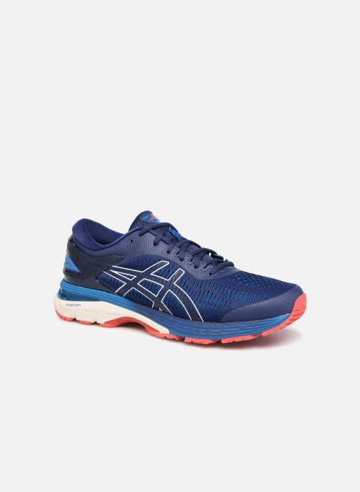 Sportssko Asics Gel-Kayano 25 Blå detaljeret billede af skoene
