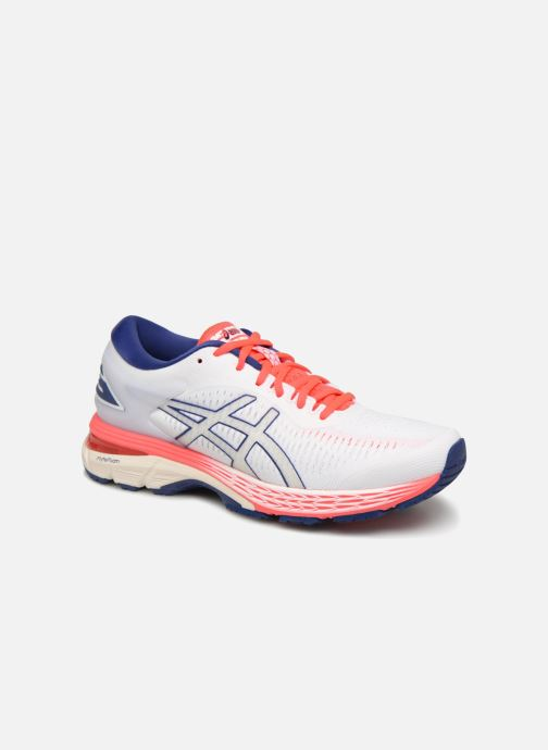 Sport shoes Asics Gel-Kayano 25 White detailed view/ Pair view