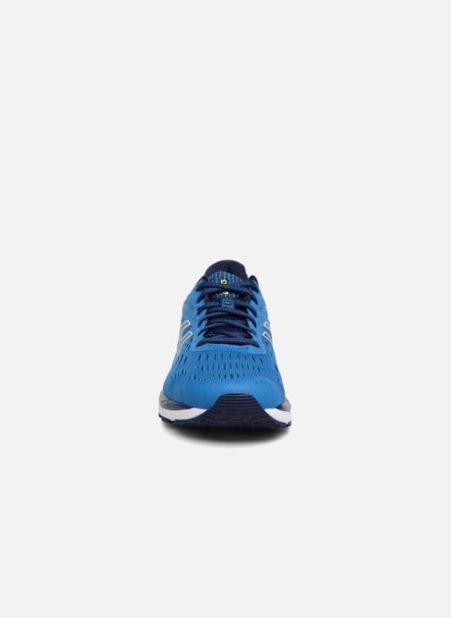 Sportschuhe Asics Gel-Cumulus 20 blau schuhe getragen