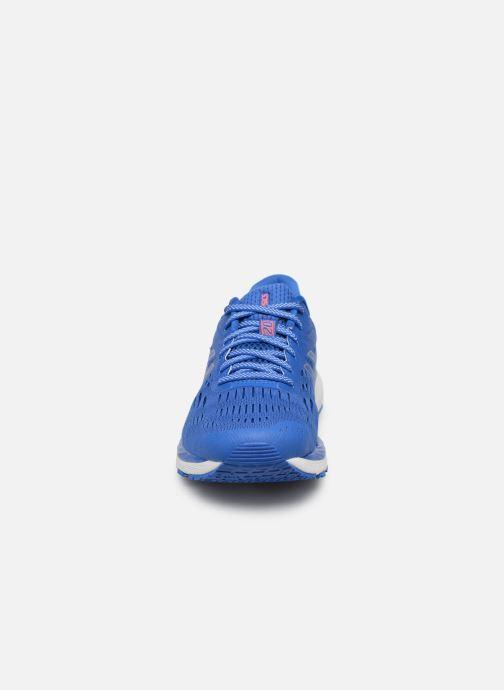Scarpe sportive Asics Gel-Cumulus 20 Azzurro modello indossato