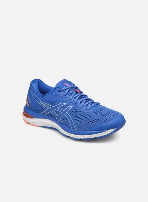 Sport shoes Asics Gel-Cumulus 20 Blue detailed view/ Pair view