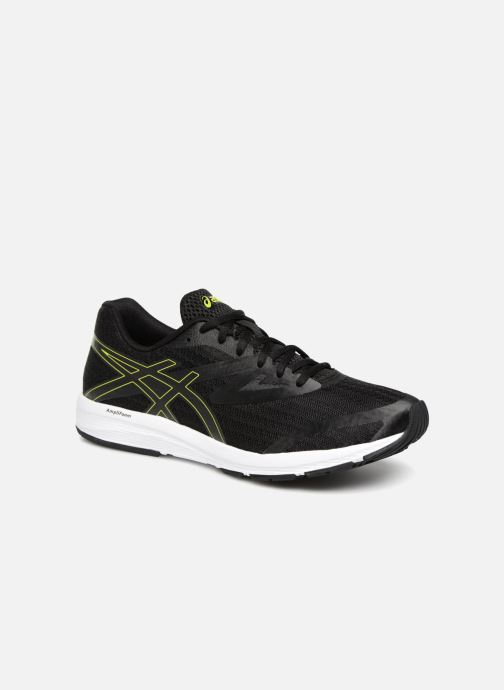 Sport shoes Asics Amplica Black detailed view/ Pair view