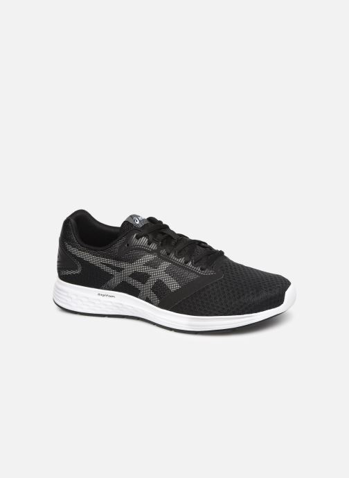 Sport shoes Asics Patriot 10 Black detailed view/ Pair view