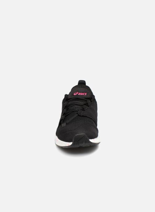 Sneaker Asics Hyper Gel-Sai schwarz schuhe getragen