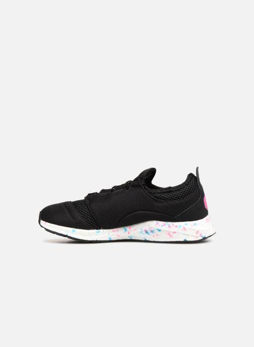 Sneaker Asics Hyper Gel-Sai schwarz ansicht von vorne