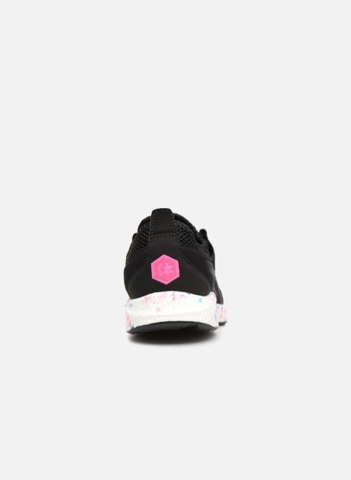 Sneaker Asics Hyper Gel-Sai schwarz ansicht von rechts