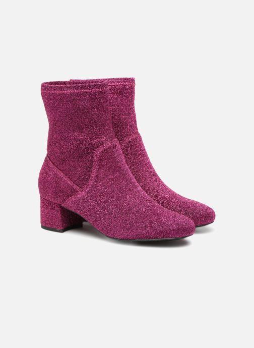 Bottines et boots Essentiel Antwerp Rulies Rose vue 3/4