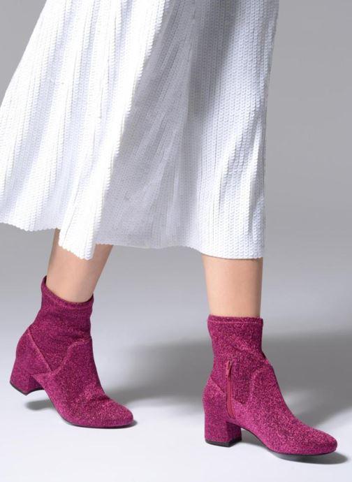 Bottines et boots Essentiel Antwerp Rulies Rose vue bas / vue portée sac