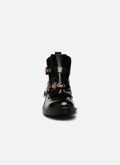 Bottines et boots Essentiel Antwerp Rajah Noir vue portées chaussures