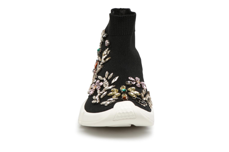 Sneaker Essentiel Antwerp Rallie Rhinestones schwarz schuhe getragen