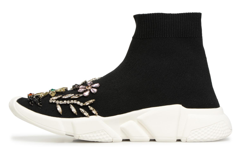 Sneaker Essentiel Antwerp Rallie Rhinestones schwarz ansicht von vorne