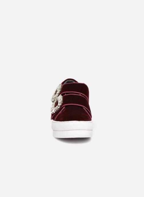 Baskets Essentiel Antwerp Radiate1 Rouge vue portées chaussures