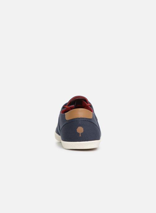 Sneakers Faguo Cypress Coton Blå Bild från höger sidan