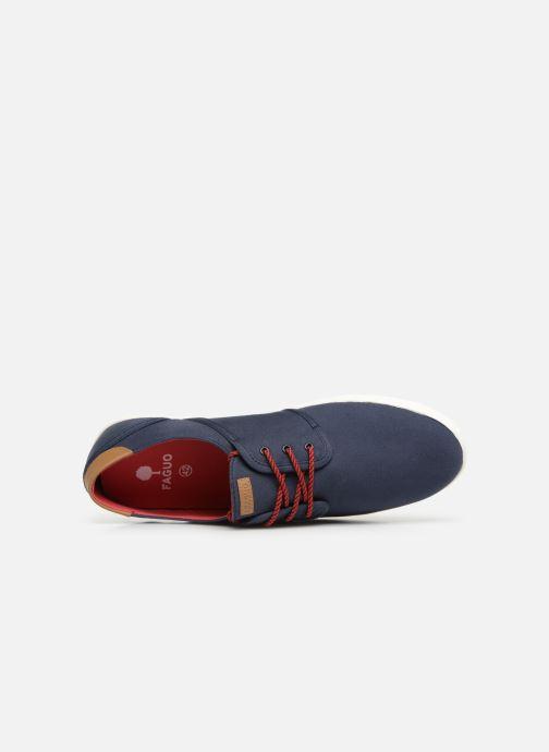 Sneakers Faguo Cypress Coton Blå bild från vänster sidan