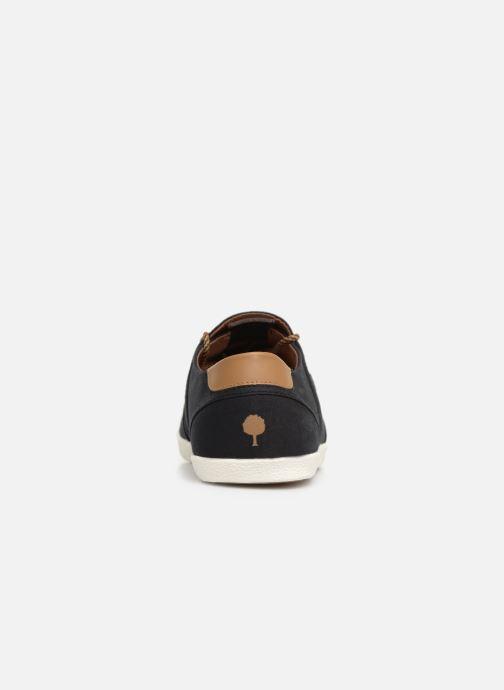 Baskets Faguo Cypress Coton Noir vue droite