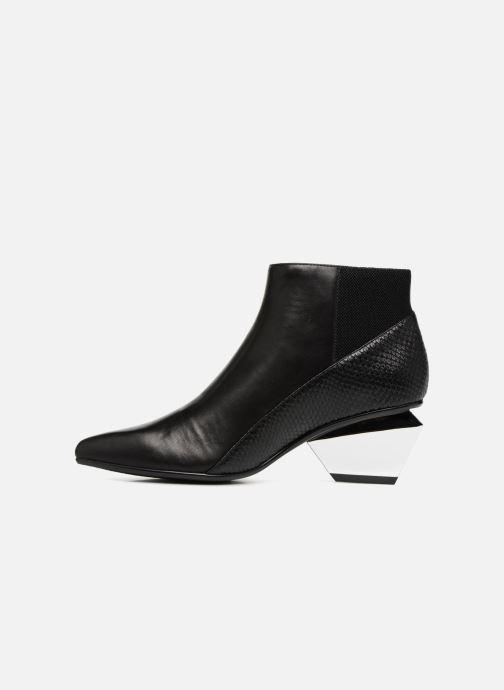 Bottines et boots United Nude Jacky Metal Mid Noir vue face