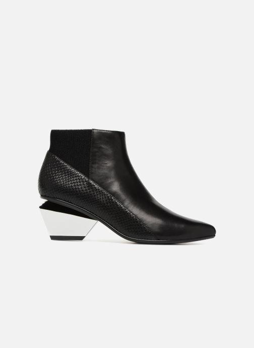 Bottines et boots United Nude Jacky Metal Mid Noir vue derrière