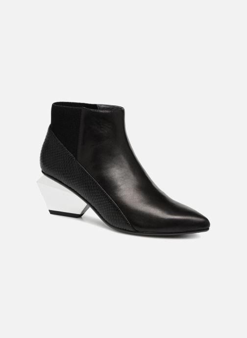Bottines et boots United Nude Jacky Metal Mid Noir vue détail/paire