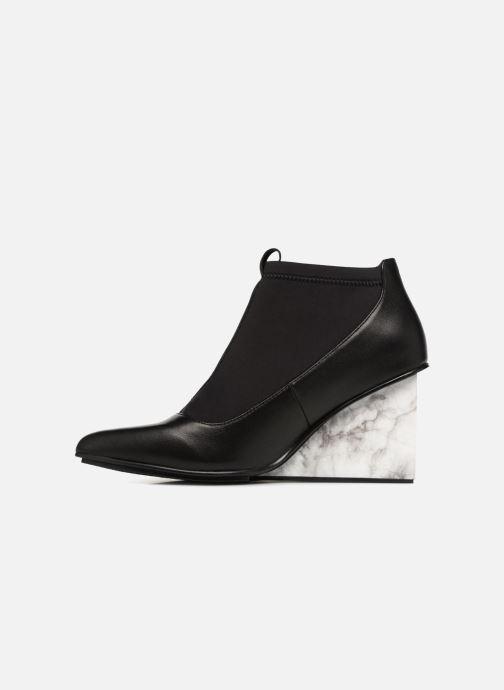Nude Nappa neoprene Black Boots Solid Luna Bottines United Et Hi CBoedxr