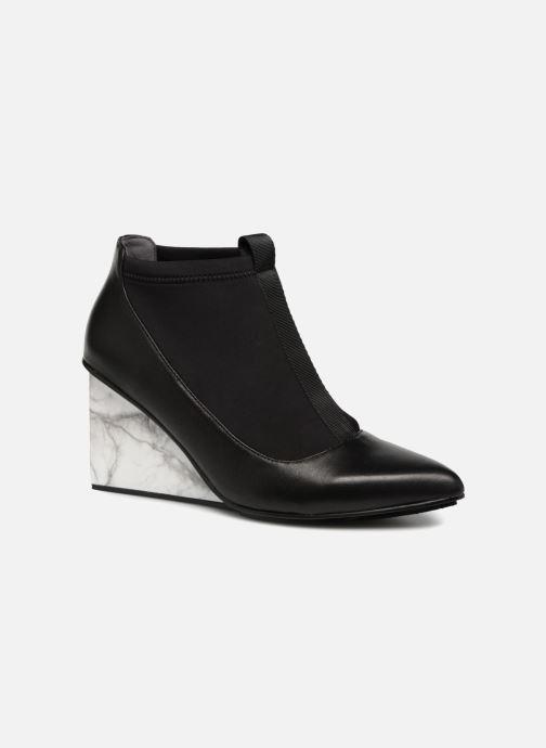 Bottines et boots United Nude Solid Luna Hi Noir vue détail/paire