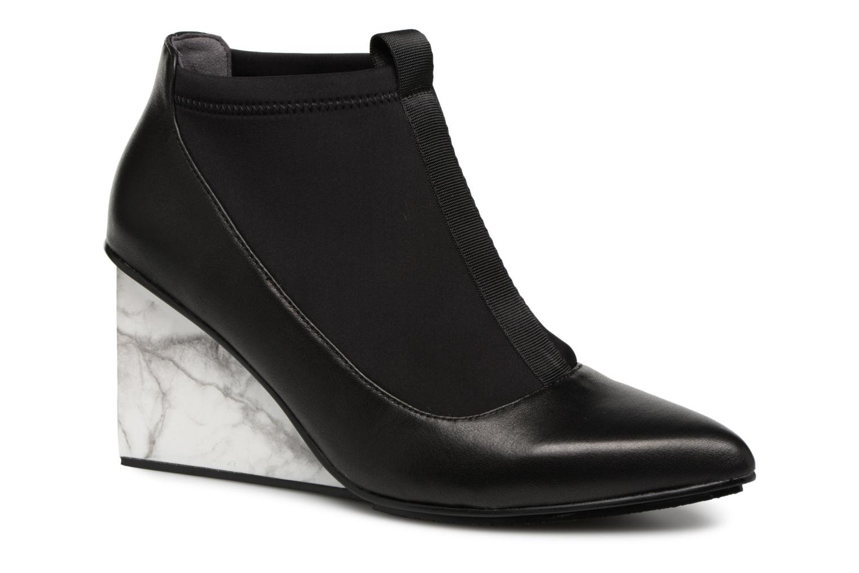Stiefeletten & Boots United Nude Solid Luna Hi schwarz detaillierte ansicht/modell